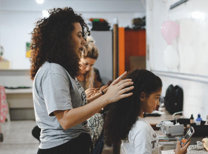 Instituto Aurora em ação: projeto Eu Vejo Flores