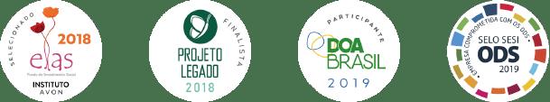 Selos do Instituto Aurora