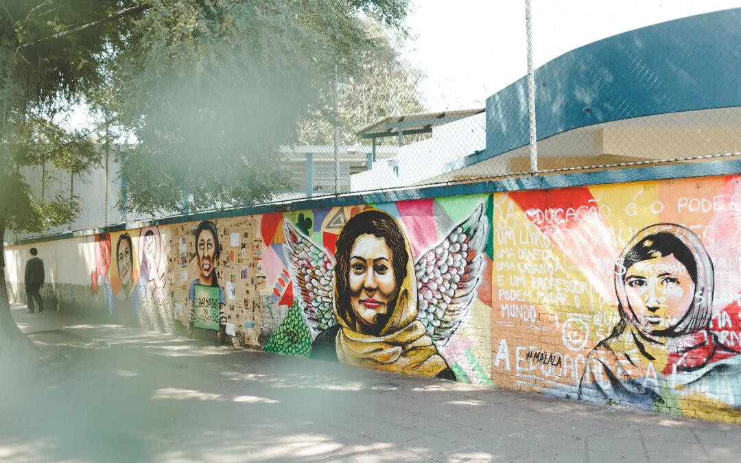 """Mulheres defensoras de Direitos Humanos: quem são os rostos do projeto """"As faces do muro"""""""