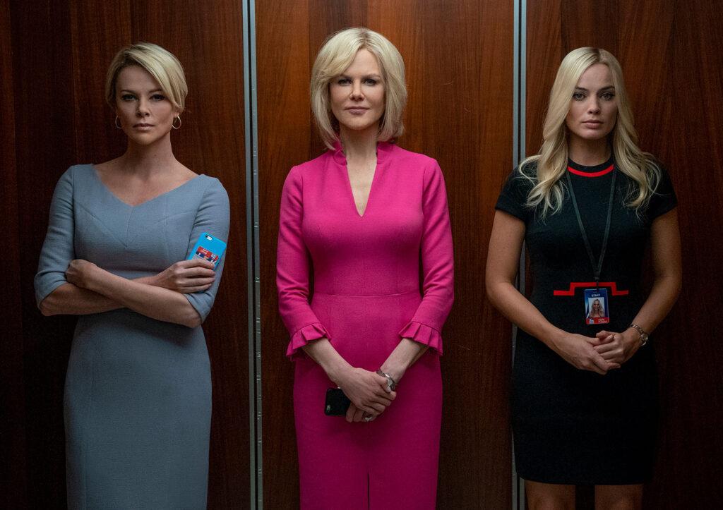 """""""O escândalo"""" é um filme que fala sobre violência à mulher no trabalho"""